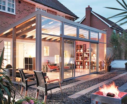 Aluminium Lantern Roof Sapphire Windows Ammanford